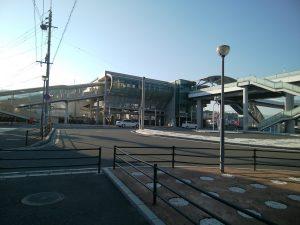 苅田駅、東口 ロータリー